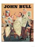John Bull  Barbers Mens Radios Magazine  UK  1950