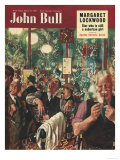 John Bull  Pub Closing Time Magazine  UK  1951