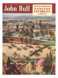 John Bull  Fox Hunting Horses Magazine  UK  1950