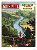 John Bull  Outdoors Rivers Countryside Ramblers Hiking Magazine  UK  1955