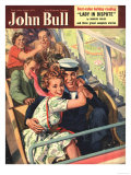 John Bull  Roller Coasters Sailors Fear Funfairs Roller-Coasters Fairs Magazine  UK  1951