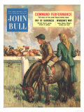 John Bull  Horse Racing Jockeys Magazine  UK  1952