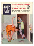John Bull  Diets Slimming Weight Loss Exercise Keep Fit Magazine  UK  1950