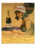 Great Western Champagne  Alcohol  USA  1920