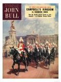 John Bull  Guards Horses Buckingham Palace Magazine  UK  1952