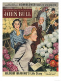 John Bull  Flowers Shopping Magazine  UK  1953