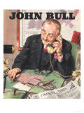 John Bull  Financial Times Magazine  UK  1946