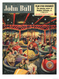 John Bull  Fairgrounds Funfairs Dodgems Magazine  UK  1950