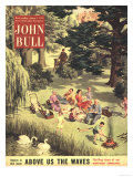 John Bull  Picnics Eating Magazine  UK  1953