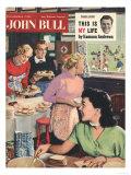 John Bull  Cooking Rugby Tea Girlfriends Baking Magazine  UK  1956