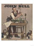 John Bull  Watch Clock Repairing Menders Man Clocks Magazine  UK  1948