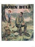 John Bull  Holiday Fishing Magazine  UK  1950