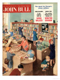 John Bull  Libraries Books Magazine  UK  1950