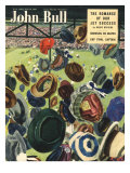 John Bull  Football Hats Magazine  UK  1950