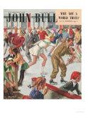 John Bull  Snow Ice Skating Winter Seasons Magazine  UK  1948