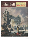 John Bull  Tower Bridge London Ships Nautical Magazine  UK  1951