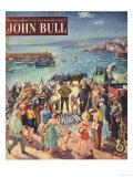 John Bull  Holiday Fishing Magazine  UK  1953