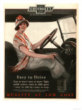 Chevrolet  Women Woman Drivers Driving Cars  USA  1920