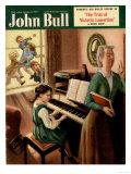 John Bull  Piano Pianos Grand Playing Lessons Games Teachers Magazine  UK  1951