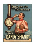 Dandy Shandy Sarsaparilla Rugby Weather  UK  1920