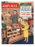 John Bull  Ties Salesman Salesmen Girls Gifts Shopping Mens Magazine  UK  1957