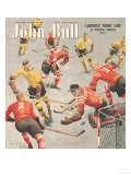 John Bull  Snow Ice Hockey Winter Seasons Magazine  UK  1949