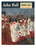 John Bull  Choirboys Beefeaters Magazine  UK  1951