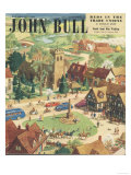 John Bull  The Villages Green the Countryside Bank Holiday Magazine  UK  1949
