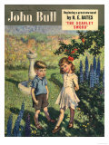 John Bull  Apples Trees Magazine  UK  1950