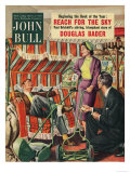 John Bull  Couples Shopping Sun Loungers Magazine  UK  1954