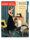 John Bull  Repairing Mending Alterations Womens Magazine  UK  1955