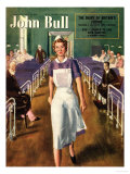 John Bull  Hospital Nurses Magazine  UK  1950