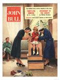 John Bull  Shoes X Rays Fittings Radioactive Radio-Active Shopping Magazine  UK  1956