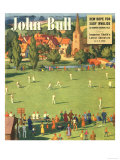 John Bull  The Villages Green Cricket Magazine  UK  1949