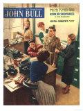 John Bull  Secretaries Engagement Boyfriends Magazine  UK  1955