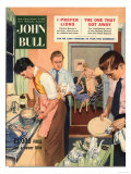 John Bull  Washing Up Dishes Magazine  UK  1956