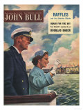 John Bull  Queen Elizabeth II  Prince Philip Duke of Edinburgh  Cruise Ships Magazine  UK  1954
