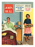 John Bull  Breakfast in Bed Father's Day Magazine  UK  1950