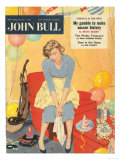 John Bull  Hoovers Cleaning Products Magazine  UK  1957