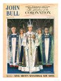 John Bull  Coronation Queen Elizabeth Womens  UK  1953