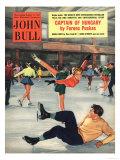John Bull  Snow Ice Skating Winter Magazine  UK  1950
