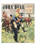 John Bull  Horse Racing Jockeys Magazine  UK  1948