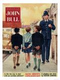 John Bull  Police  Naughty Boys Magazine  UK  1957