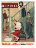John Bull  Chatting Talking Family Magazine  UK  1957