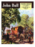 John Bull  Gypsies Caravans Magazine  UK  1950