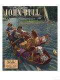John Bull  Rowing Boats the On Rivers Magazine  UK  1948