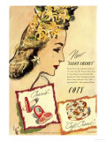 Coty Make-Up: Lipstick and Face Powder  USA  1933
