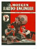 The Modern Radio Engineer  Radios First Issue Magazine  UK  1934