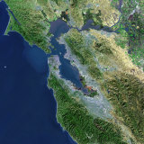 San Francisco  California  Satellite View