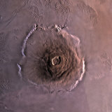 Olympus Mons  the Largest known Volcano in the Solar System